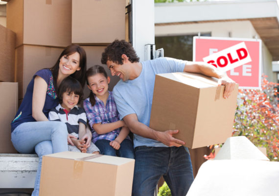 Help your children when they're moving by hiring a van