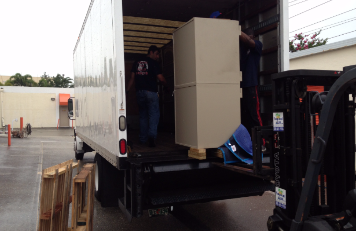 Commercial Safe Move